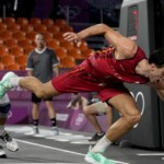 Basketball in 3x3 format goes from the street to an Olympic debut