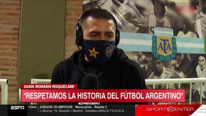 Riquelme, very hard against Tinelli and compliments for the youth of Boca