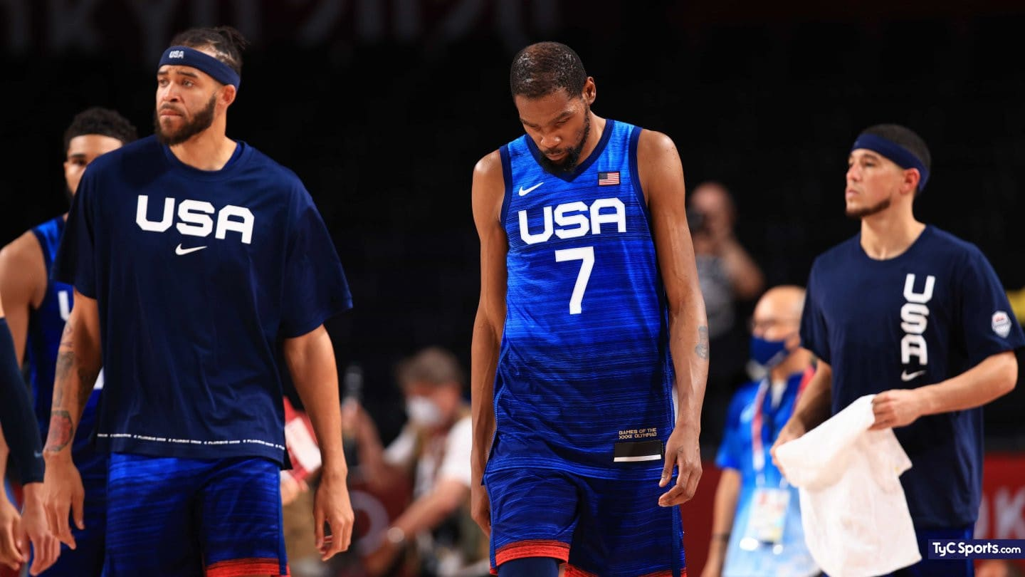 1627225539 Bad start for NBA stars Team USA lost in Olympic