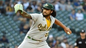 Oakland saw a grown Sean Manaea on the mound