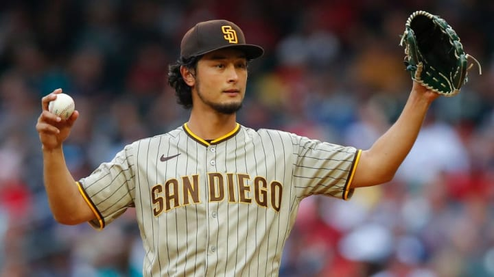 Yu Darvish was coming off second in the National Cy Young vote.