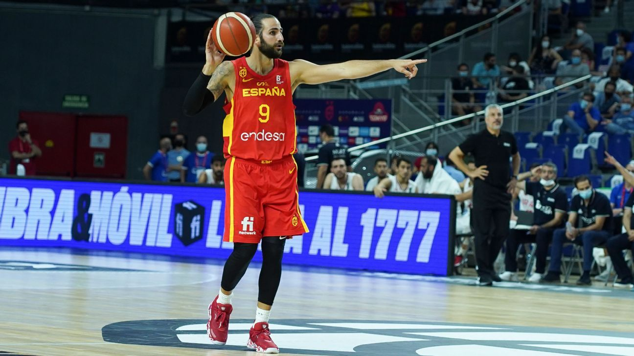 1627340875 Spain opens to the sound of Ricky Rubio and defeats