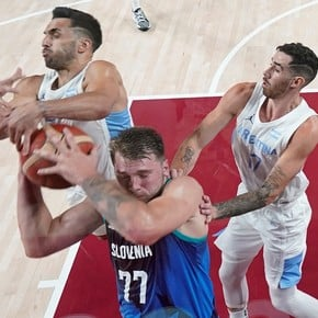 Sheep Hernández, Campazzo and Scola at the feet of Doncic