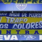 The strong flag that hung in Boca-San Lorenzo - TyC Sports