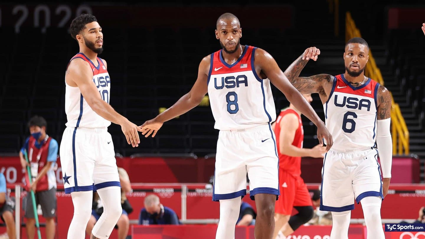 1627478956 Team USA achieved their first victory at the Tokyo 2020