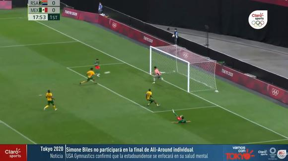 Alexis Vega made it 1-0 for Mexico vs. South Africa for Tokyo 2020. (Video: Claro Sports)
