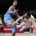 Tokyo 2020: the Argentine basketball team collided with Spain and can only aspire to qualify for the quarterfinals as the best third