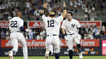 The Yankees prevailed in the first of the series against Rays
