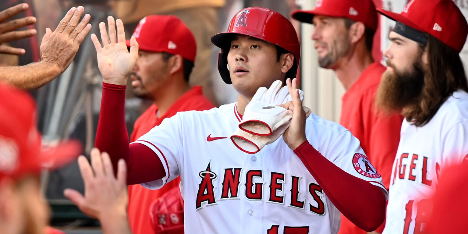 37 HR Ohtani does not give up with the tree