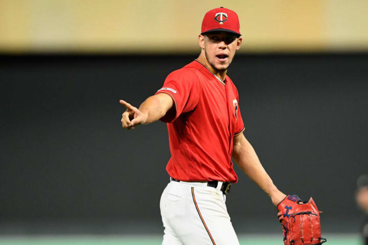Right-hander José Berríos is 7-2 with a 3.52 ERA this season in 16 starts with the Minnesota Twins.