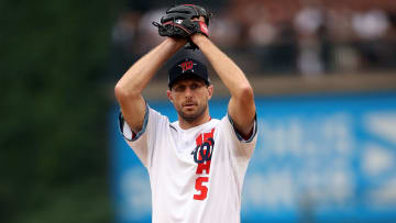 Max Scherzer was the starter of the National League in the 2021 All-Star Game