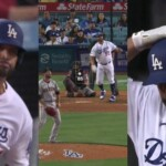 Albert Pujols hit two home runs at Los Angeles Dodgers party