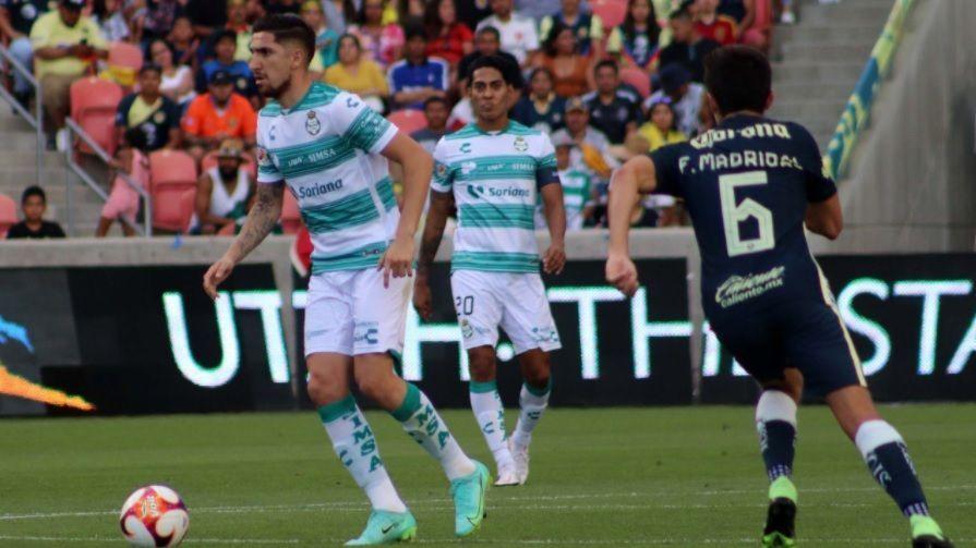 America beats Santos Laguna in preparation duel