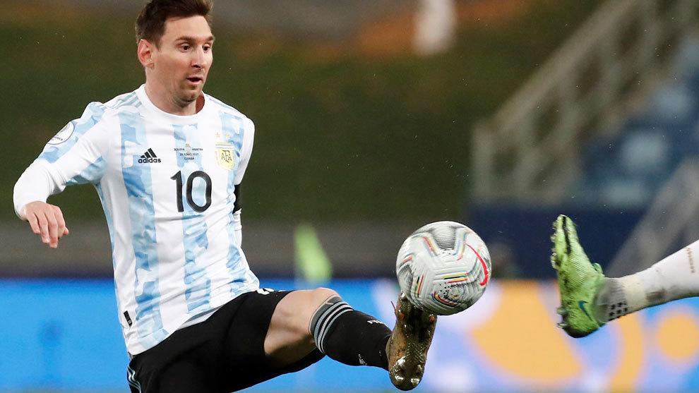 Argentina Ecuador in live Americas Cup 2021