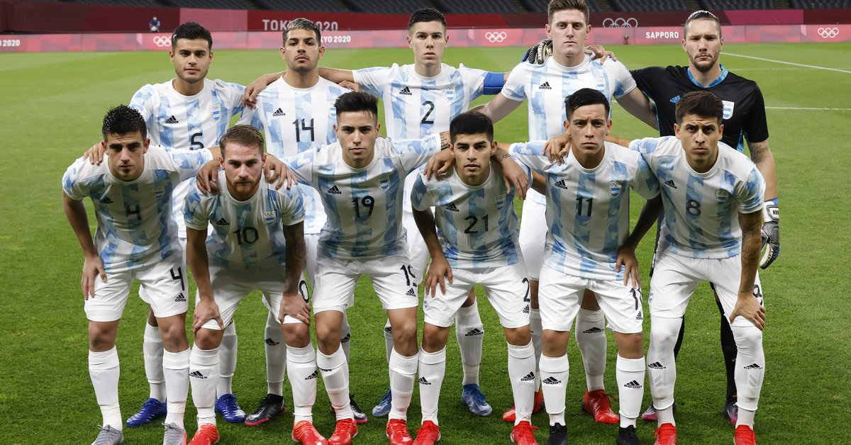 Argentina goes for the recovery against Egypt in the men's soccer of the Olympic Games: time, TV and formations