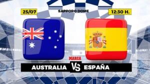 Australia - Spain, live   Football   Olympic Games   Brand