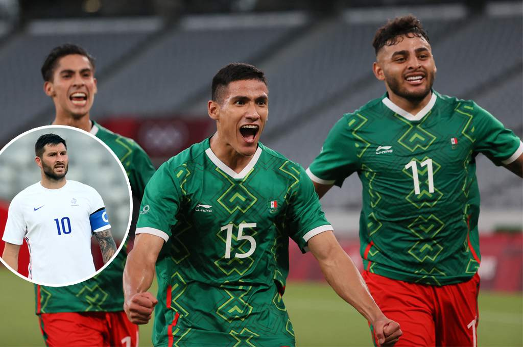 Beating! Mexico humiliates Gignac's France on their return to the Olympic Games - Diez - Diario Deportivo