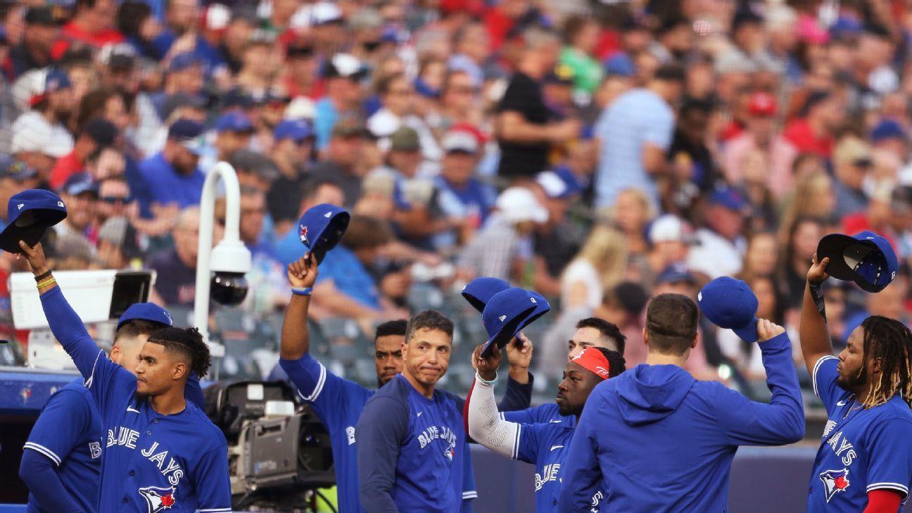 Blue Jays end Buffalo stay and return to Toronto