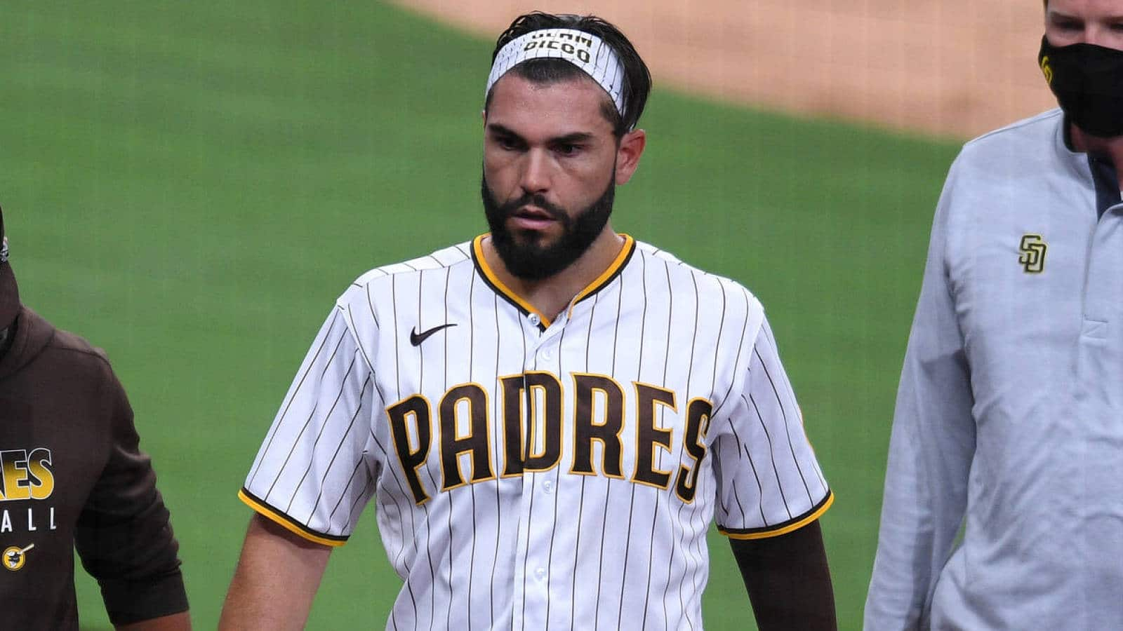 Bomb San Diego Padres Explore Trade For Erick Hosmer Ahead