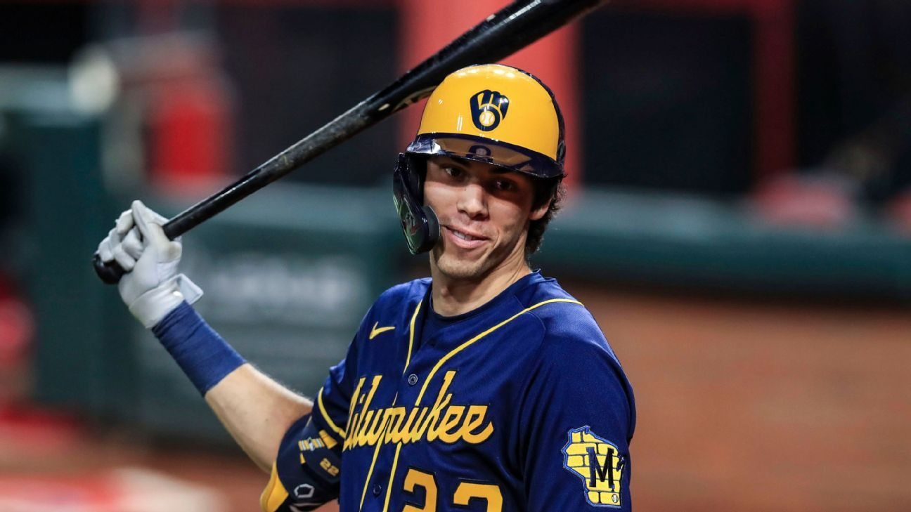 Brewers Christian Yelich positive for COVID 19