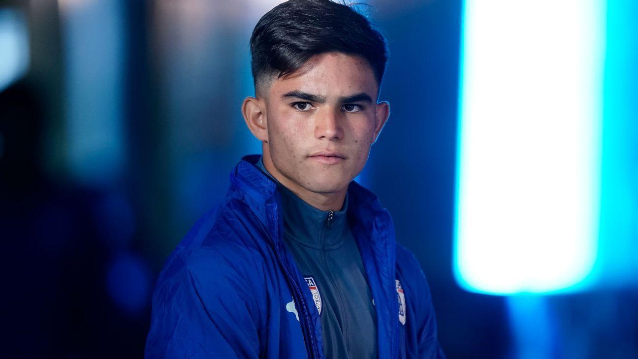Bruce El Mesmari U 17 World runner up will be Carlos Velas