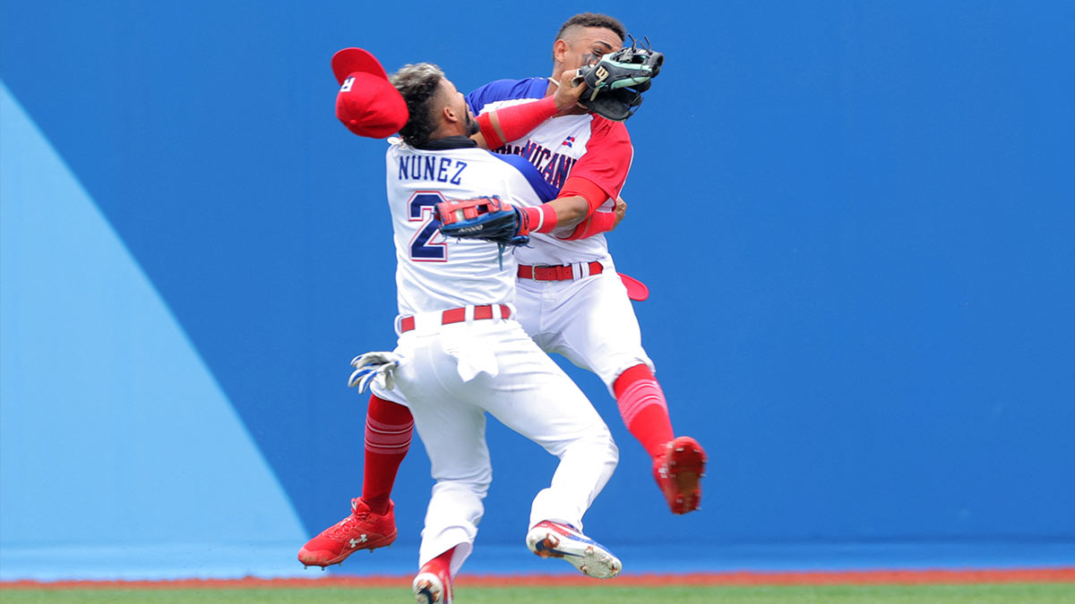 Brutal clash in baseball players are shocked in Tokyo 2020