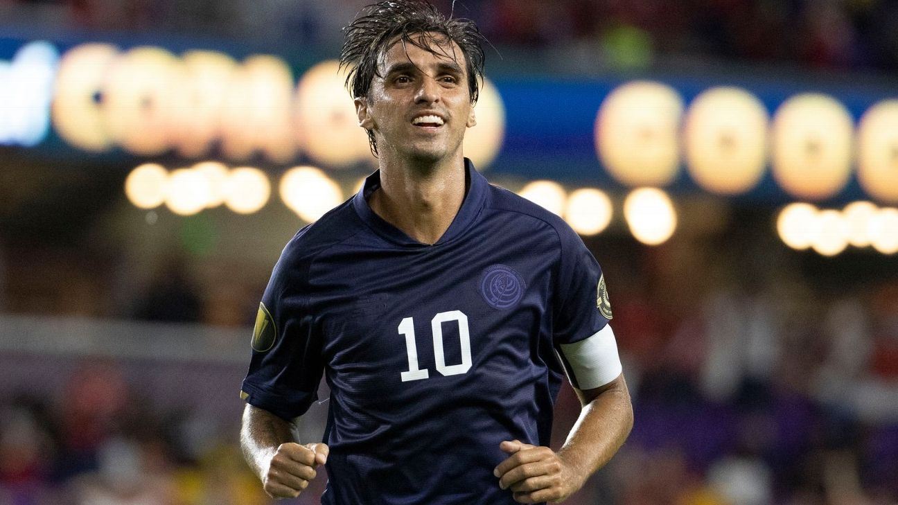 Bryan Ruiz leaves his continuity in the Costa Rica national