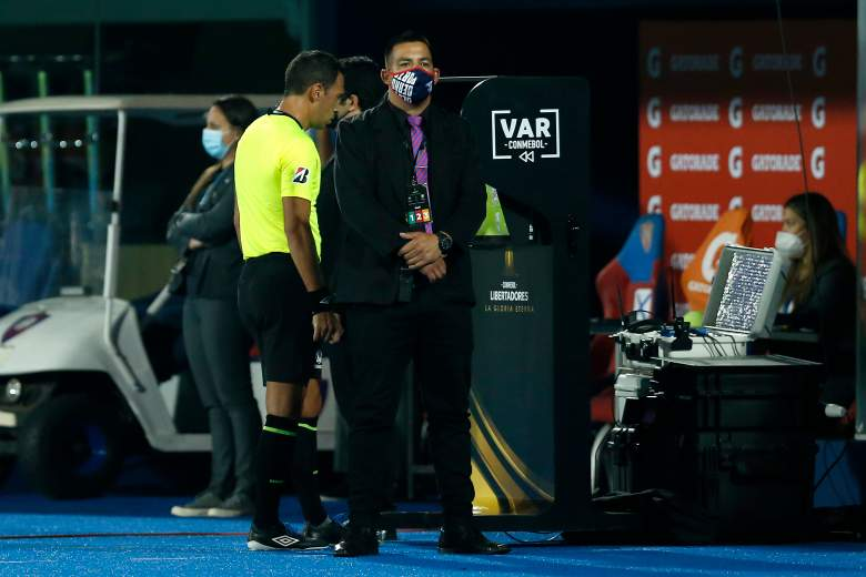 CONMEBOL came out to admit an error in the VAR