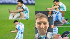 Call me when you arrive: Messi's video call at the Maracana and the tensions of permanent connectivity