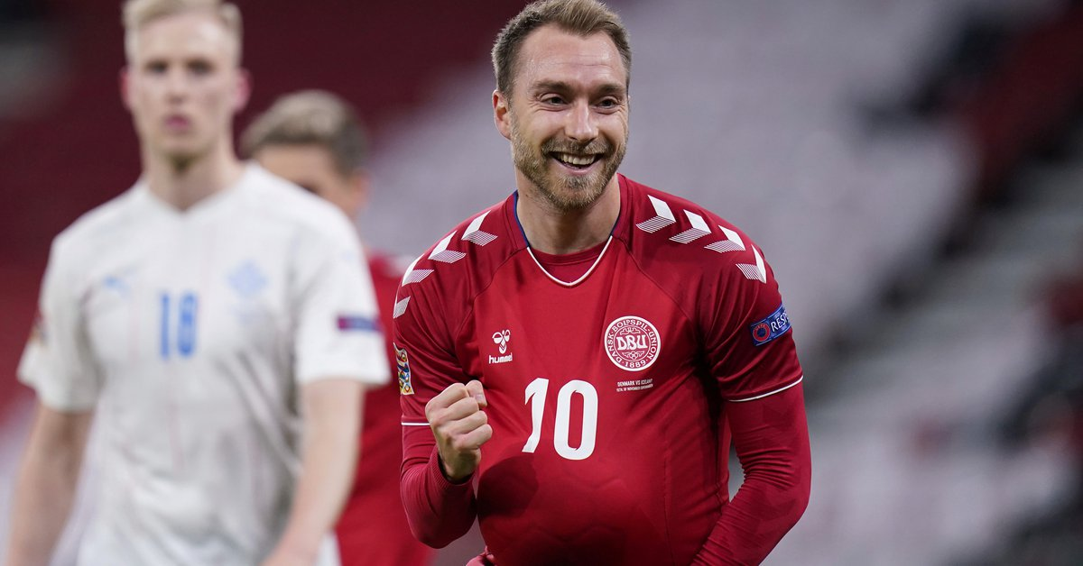 Christian Eriksen will be the guest of honor in the
