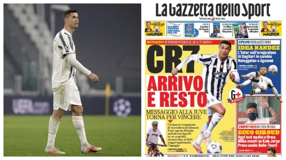 Cristiano Ronaldo Juventus and Messis mirror