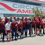 Cruz Azul visited the Formula 1 Circuit of the Americas as a 'prize' for the Liga MX title