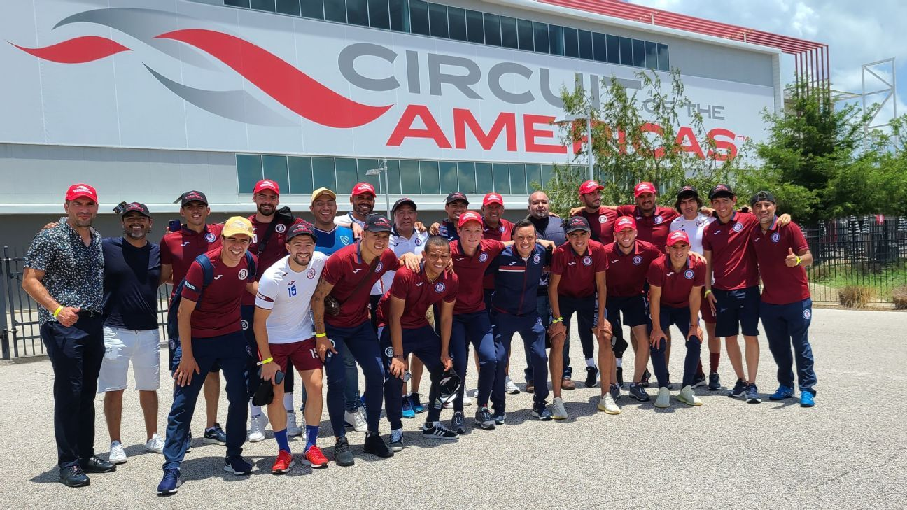 Cruz Azul visited the Formula 1 Circuit of the Americas