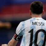 'Dance now': where does Messi's fight with Yerry Mina come from and how it continued after the game off the pitch