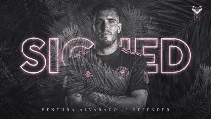 Ventura Alvarado play & # xe1; at Inter Miami