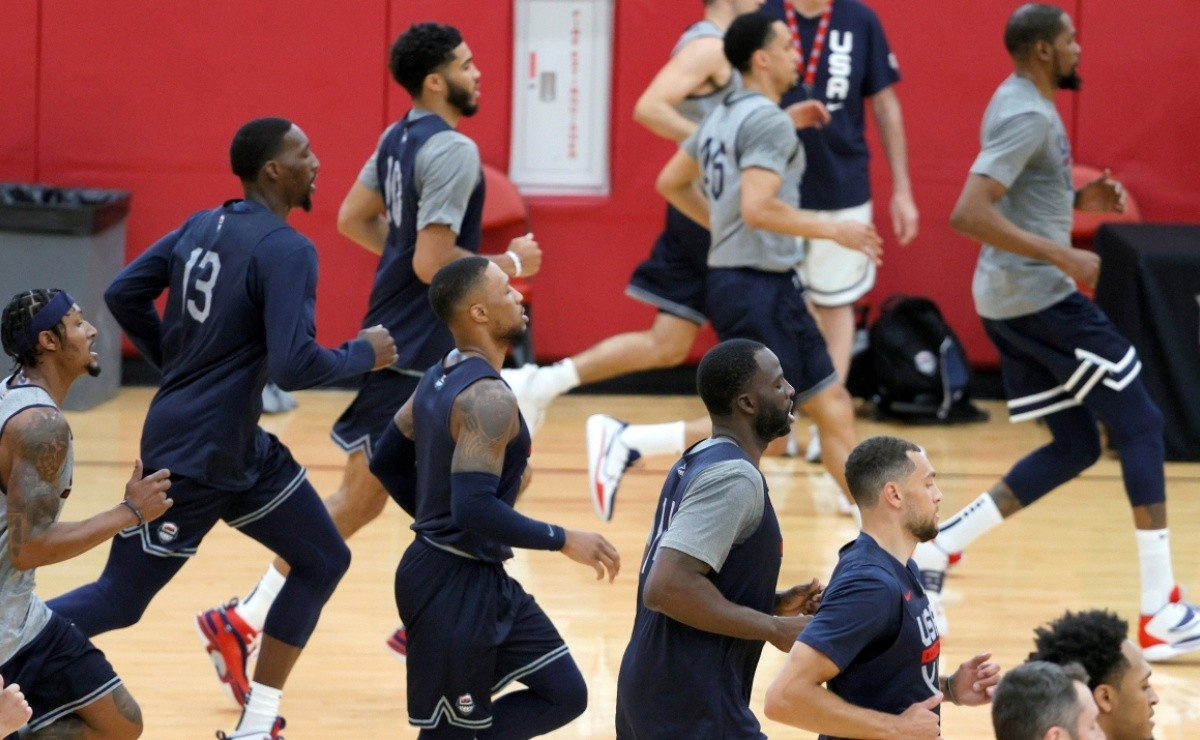Day and time of the United States men's basketball team's games at the Tokyo 2020 Olympic Games
