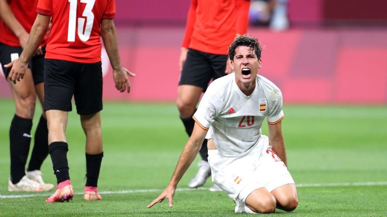 Egypt S23 vs Spain U23 Match Report July