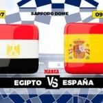 Egypt - Spain, live   Football   Olympic Games   Brand