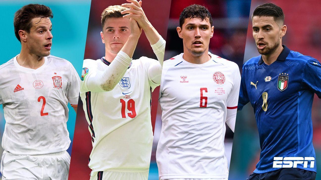 Euro 2020 Chelsea has at least one representative per selection