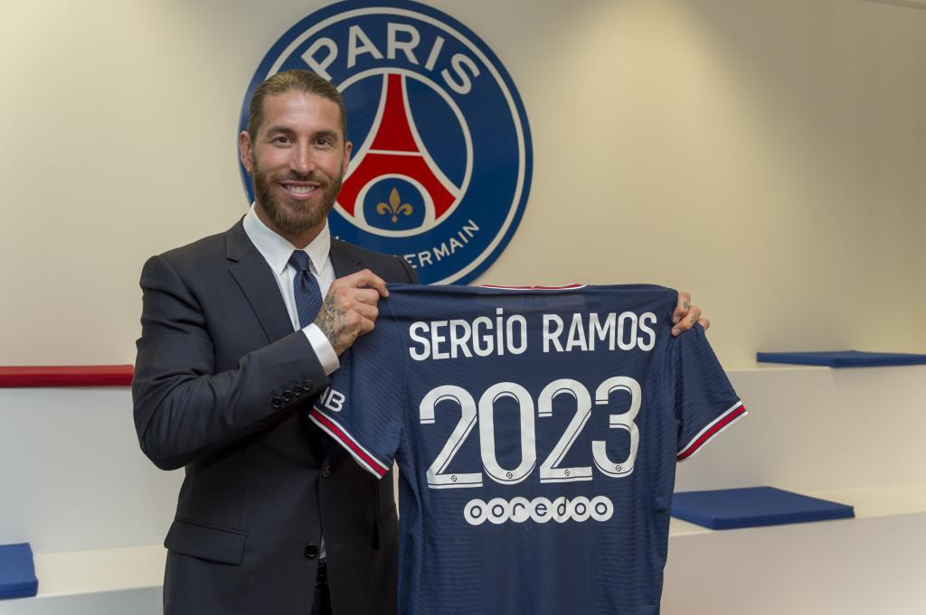 Everything ready for the premiere of Ramos with Paris Saint Germain