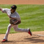 Fire! Giants prospect hits nearly 105 mph with his minor league fastball