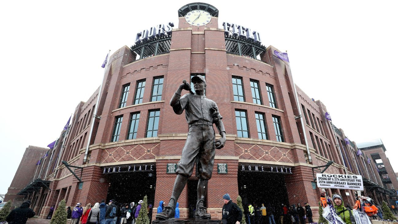 Four people arrested in the vicinity of Coors Field headquarters