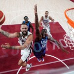 France surprises and defeats the United States, the great favorites of Olympic basketball - La Tercera