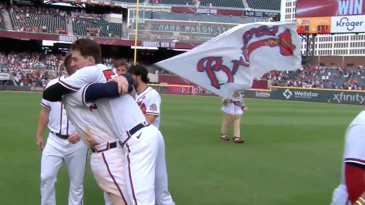 Fried was the hero of Braves in the 10th