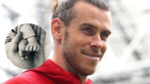 Gareth Bale presents his fourth child by surprise and the name causes a sensation