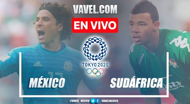 Goals and summary: Mexico 3-0 South Africa in Olympic Games | 07/28/2021