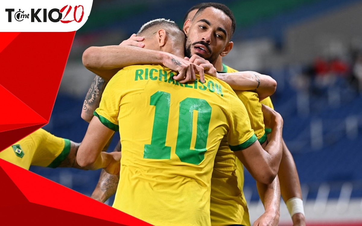 Goals from Brazil vs Egypt (1-0); Scratch will play against Mexico in the Semifinal