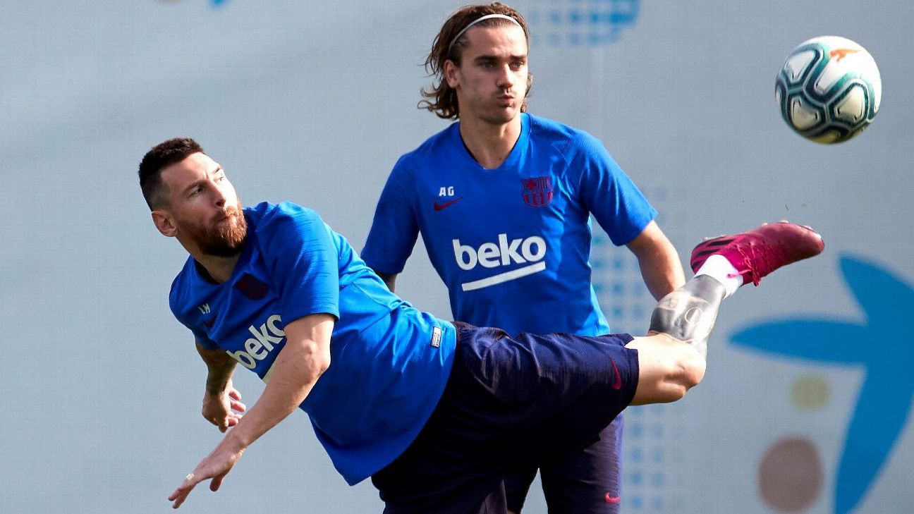 Griezmann does not rule out leaving Barcelona