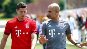 Guardiola interferes between Real Madrid and Lewandowski