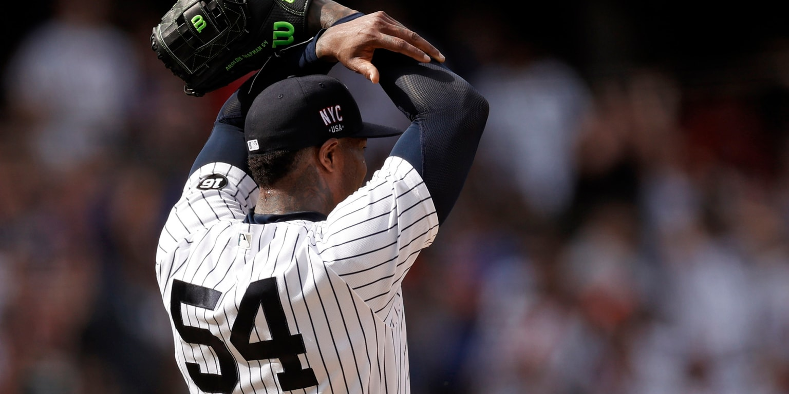 Has Chapman come out of his bump in NY